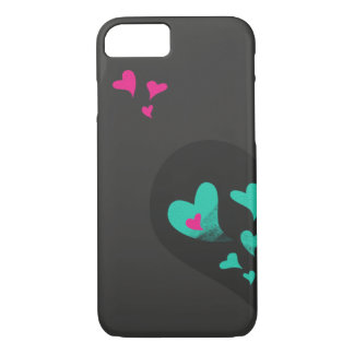 Two halves make one heart Part I iPhone 7 Case