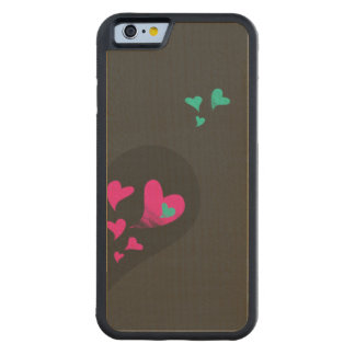 Two halves make one heart Part II Carved Maple iPhone 6 Bumper Case