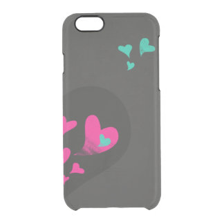 Two halves make one heart Part II Clear iPhone 6/6S Case