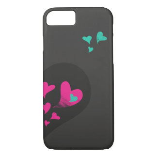 Two halves make one heart Part II iPhone 7 Case