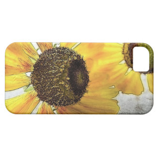 Two Happy-Faced Helenium Flowers iPhone SE/5/5s Case