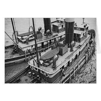 Two Harbor Tugs Card