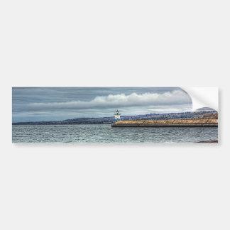 Two Harbors Breakwall Bumper Sticker