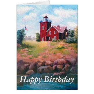 Two Harbors Light Card