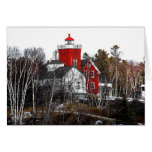 Two Harbors Lighthouse Card
