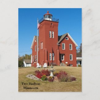 Two Harbors Lighthouse.jpg Post Cards