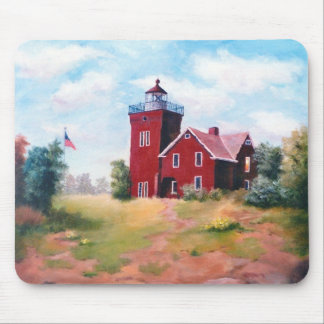 Two Harbors Lighthouse Mousepad