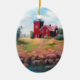 Two Harbors Lighthouse Ornament