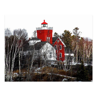 Two Harbors Lighthouse Postcard