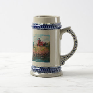 Two Harbors Lighthouse Stein 18 Oz Beer Stein