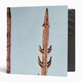 Two Harpoons, Upper Paleolithic Period Binder
