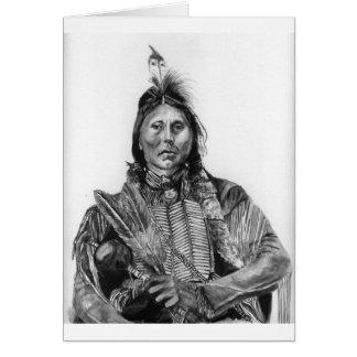 Two Hatchet, Kiowa Card