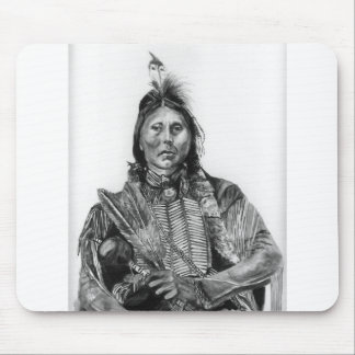 Two Hatchet, Kiowa Mouse Pad