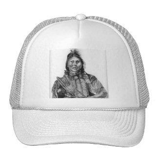 Two Hatchet, Kiowa Trucker Hat