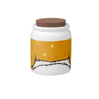 Two Headed Deer Vector Sketch Candy Jar