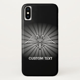 Two headed Eagle iPhone X Case