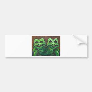 Two-headed Frog (animal symbolism) Bumper Sticker