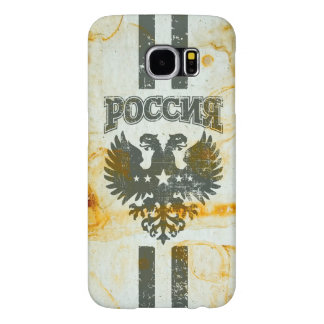 Two Headed Russian Eagle Rust Stained Samsung Galaxy S6 Case