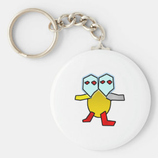 Two headed turtle keychain