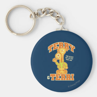 Two Heads are Better than One Keychain