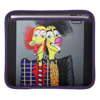 TWO HEADS ARE BETTER THEN ONE iPad SLEEVE