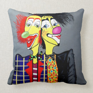 TWO HEADS ARE BETTER THEN ONE THROW PILLOW