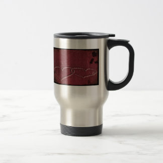 Two Hearts as One 15 Oz Stainless Steel Travel Mug