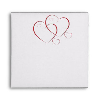 Two Hearts as One Envelope