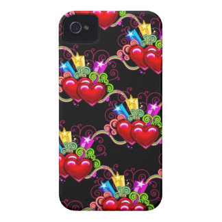 Two Hearts as One iPhone 4 Case