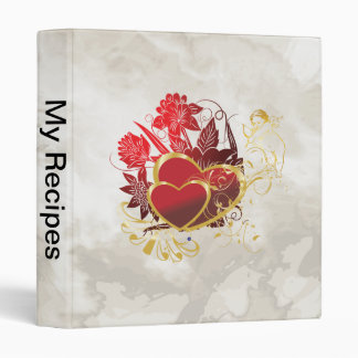 Two Hearts Bouquet Binder