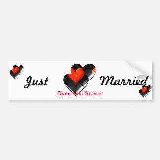 """""""Two Hearts""""* Bumper Sticker"""