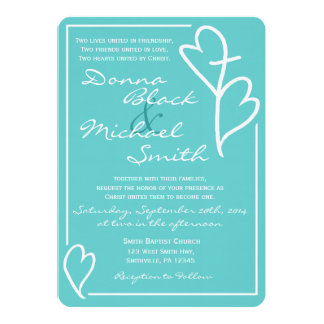 Religious Wedding Invitations Announcements Zazzle