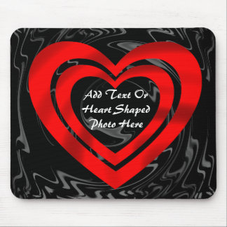 TWO HEARTS FRAME-MOUSEPAD MOUSE PAD