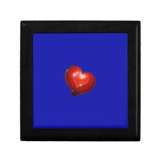 Two hearts in love look like one big heart keepsake boxes