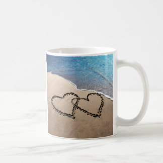 Two Hearts In The Sand Beach Cup