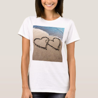 Two Hearts In The Sand T-Shirt