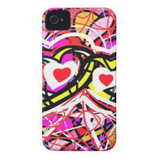 Two Hearts in Turmoil. iPhone 4 Case