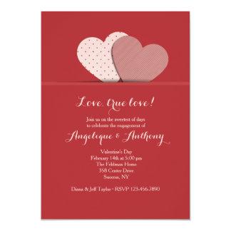 Two Hearts Invitation