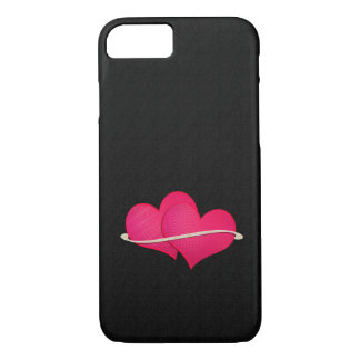 Two hearts iPhone 7 case
