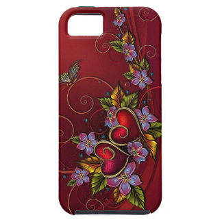 Two Hearts iPhone SE/5/5s Case