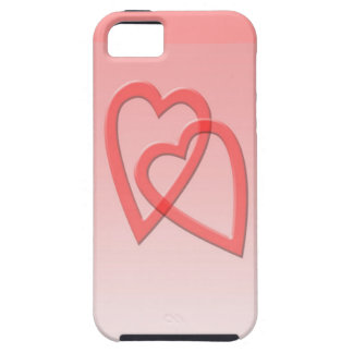 Two Hearts Joined As One iPhone 5 Case