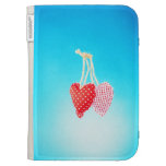 two hearts Kindle Case