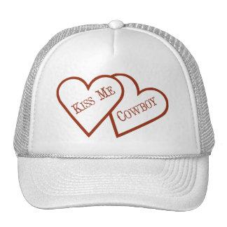 Two Hearts,  Kiss Me Cowboy Trucker Hat