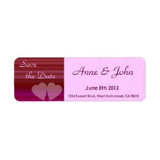 Two Hearts Label