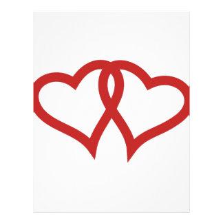 Two Hearts Letterhead