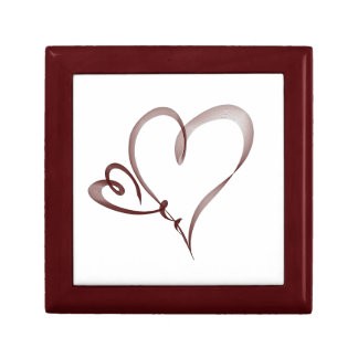 Two Hearts - love Jewelry Boxes