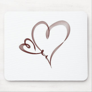 Two Hearts - love Mouse Pad
