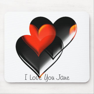 """""""Two Hearts""""* Mouse Pad"""