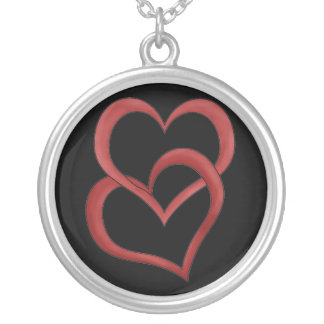 Two Hearts Custom Necklace