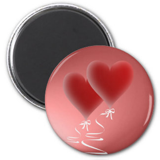 Two hearts of magnets
